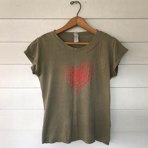 Goo Goo Dolls army green T Shirt